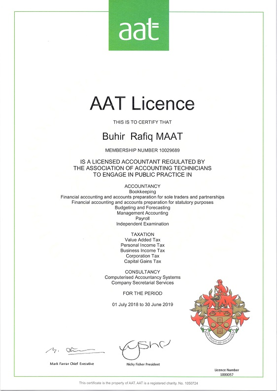 AAT Licence